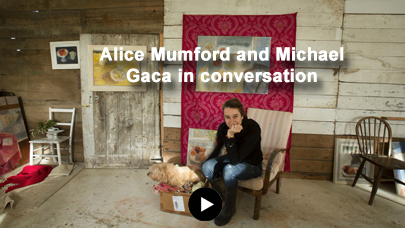 Artist Alice Mumford and gallerist Michael Gaca talk briefly about seven new small paintings painted in 2020 for Belgrave St Ives